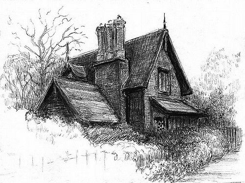 english-house | English house Drawing by Jean Vincent | Thinking About Art | Flickr