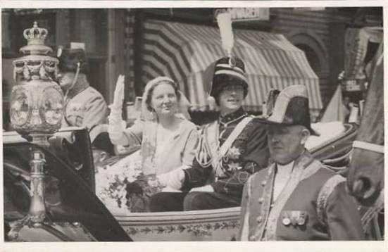Wedding of Princess Juliana of the Netherlands and Prince Bernhard of…