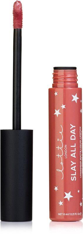 Lottie London Slay All Day Longwear Matte Liquid Lipstick - O.M.G