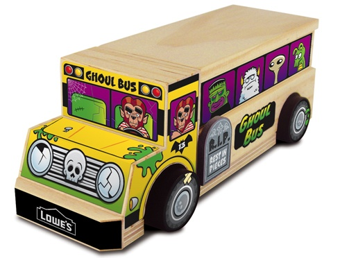13 Lowes Build And Grow At A Near You Make Ghoul Bus