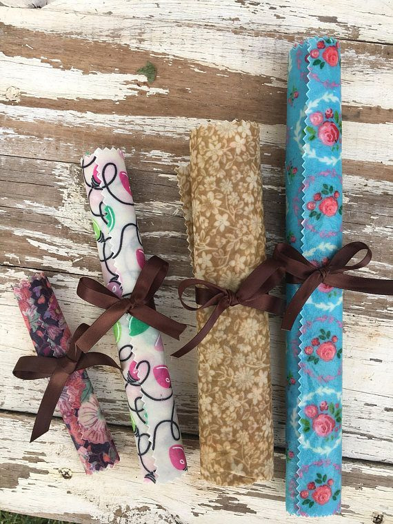Eco Beeswax food wrap / Biodegradable plastic wrap alternative