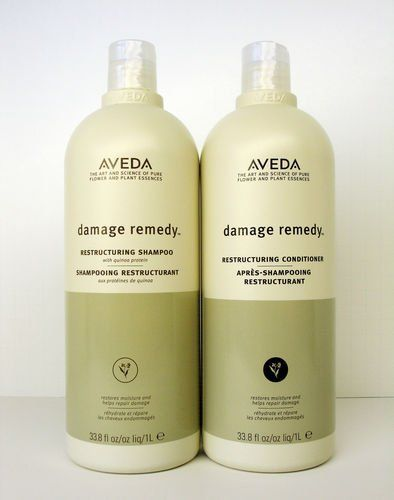 Aveda Damage Remedy Shampoo and Conditioner Liter Duo Set 33.8 oz -- Read more  at the image link.
