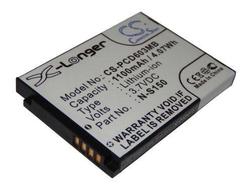 vhbw batería 1100mAh (3.7V) para Philips Babyfon Babyphone Avent SCD603, SCD-603/00, SCD-603H9 por SN-S150.