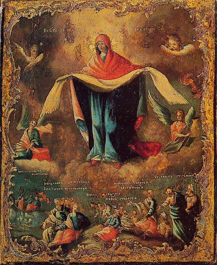 Картинки о покрове богородицы, месяцем