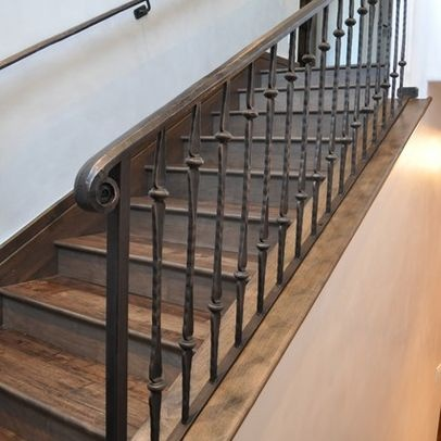 17 best images about hand rails on pinterest wrought. Black Bedroom Furniture Sets. Home Design Ideas