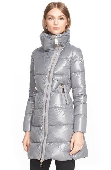 Moncler 'Joinville' High Collar Down Puffer Coat available at #Nordstrom