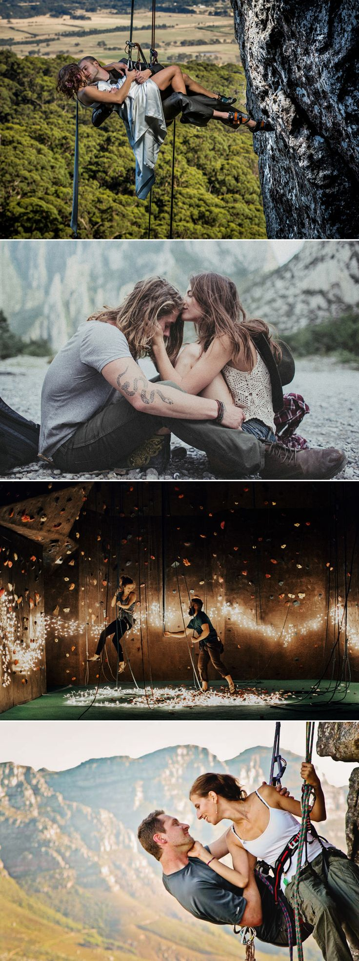 Fearless Love! 37 Adventurous Engagement Photos That Will Take Your Breath Away!