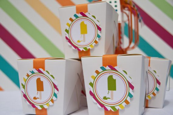Don't forget these cute summer party favors for your guests!