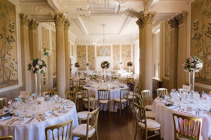 Hampden House Wedding | Wedding venue decorations | Traditional & Rural wedding venue | Located in the small village of Great Hampden, Buckinghamshire | Hampden House Wedding photography by Hannah McClune Photography.