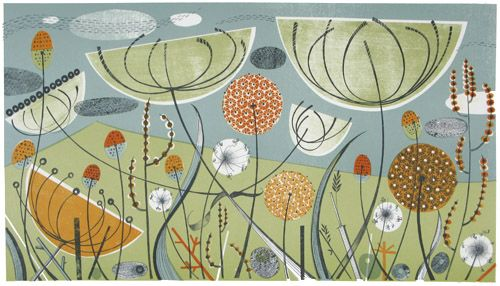 Angie Lewin - Alliums and Fennel