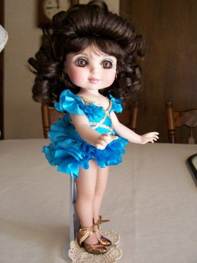 Nancy Peterson's Personal Collection. Marie Osmond Doll, Adora Samba Belle, with the Dancing With The Stars Series
