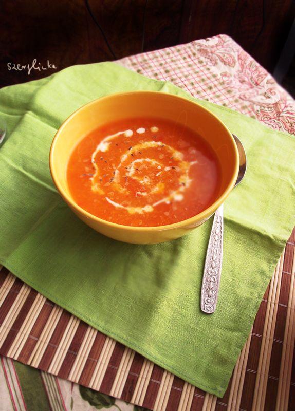 Carrot soup by szerglinka.deviantart.com on @deviantART #food #soup
