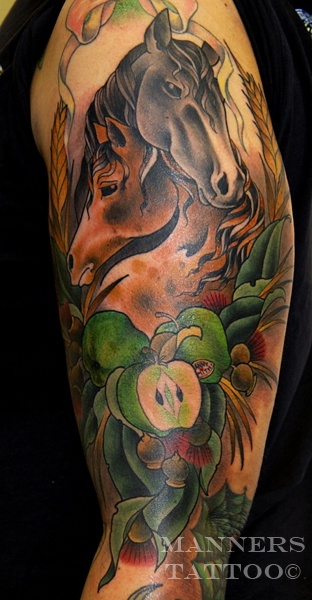 72 best horse tattoo ideas images on pinterest for Wild horse tattoo