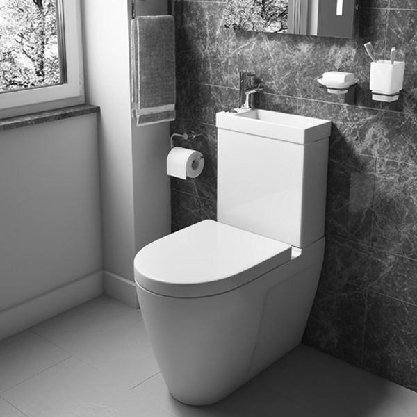 Space Saving Sink And Toilet Combined Design Sink Toilet Combo Toilets And Sinks Toilet Sink