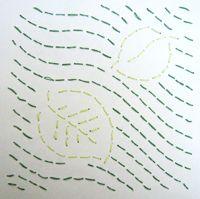 Sashiko Stickerei