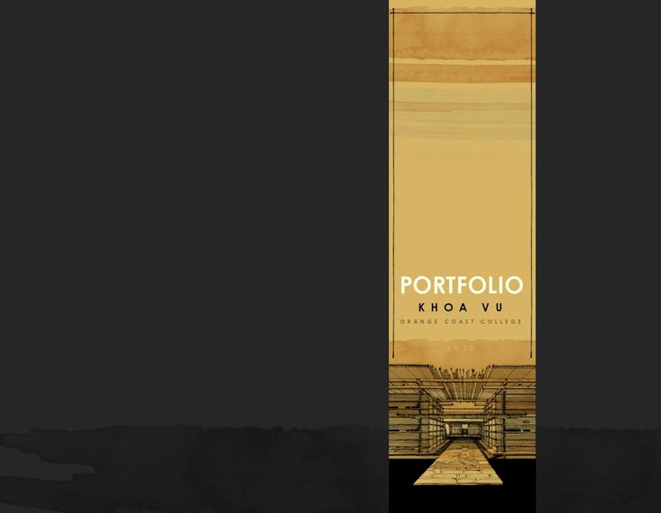 Khoa Vu Architecture Portfolio 2012  This is the official architectural design portfolio of Khoa Vu - Archdekk (2012)  Find his work on: www.archdekk.com