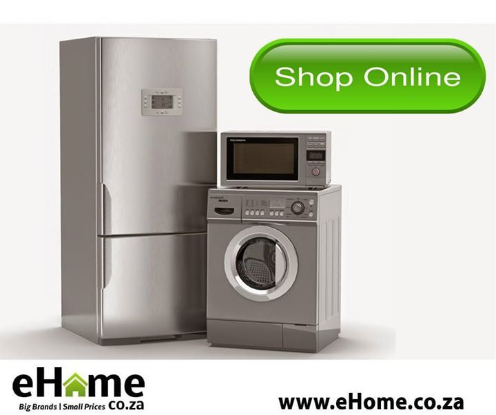 For the best brands in home appliances, visit our online store at eHome.co.za and complete your #homedecor from the comfort of your armchair. We will also deliver at no extra charge. #appliances #homeimprovement