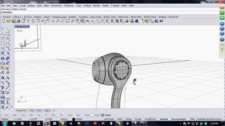 "In this video, Kyle Houchens shows you how to model ear buds working from a hand-sketched design brief.   Kyle keeps it lively and entertaining as he models ""free…"