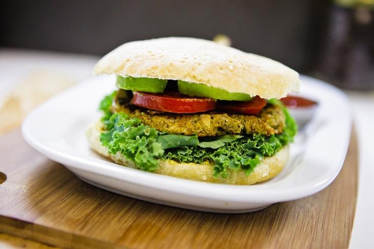 Savory Sage & Flower Burger #vegan #glutenfree | Keepin' It Kind