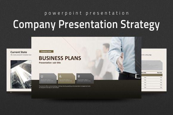 Company Presentation Strategy by Good Pello on @creativework247