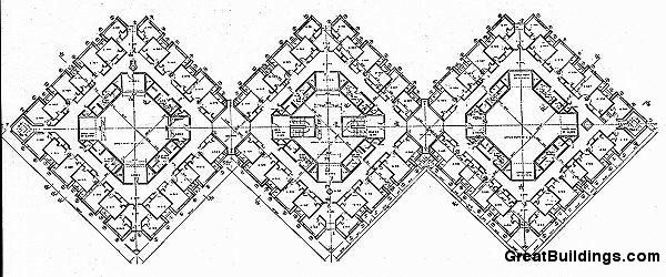 Great Buildings Drawing   Erdman Hall Dormitories | ⚘ ⇻ ⋐ᴘ᷂ᴀ᷂⋑ | Pinterest  | Building Drawing, Dormitory And Building Images