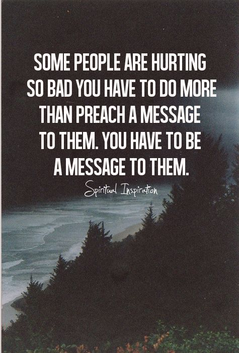 Be the message!