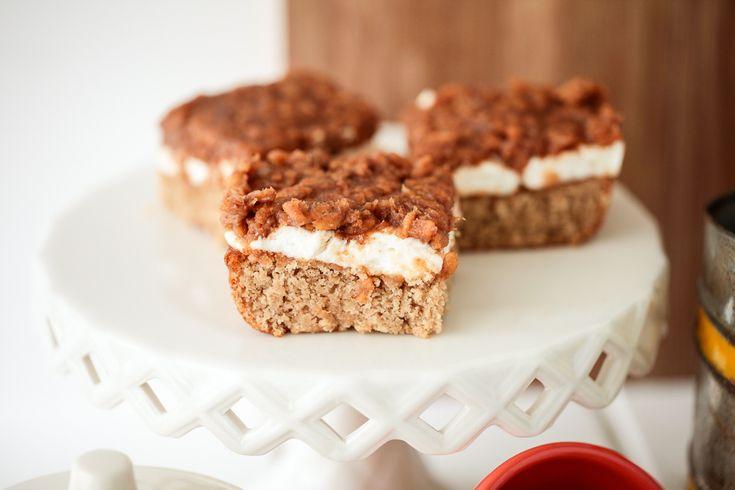 Caramel Peanut Butter Marshmallow Bars  |  Keepin' It Kind