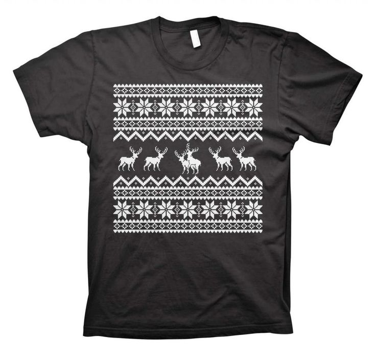 Reindeer Sex Games - Funny Ugly Christmas Sweater - T-shirt