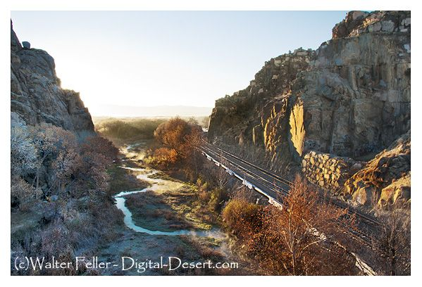 Photo of Mojave River Narrows, Victorville, Apple Valley, Ca.