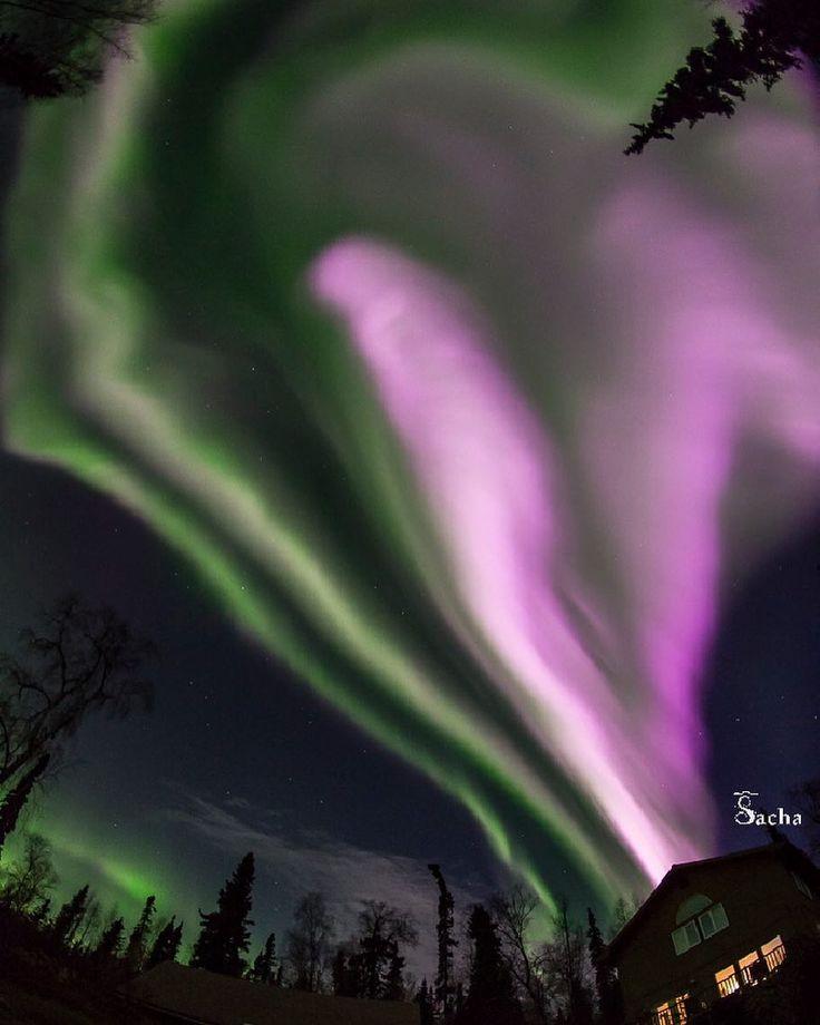 152 отметок «Нравится», 2 комментариев — Astronomia por Cássio Barbosa (@astrogram) в Instagram: «Um buraco coronal no Sol deixa escapar um fluxo de partículas criando aurorassem altas latitudes,…»