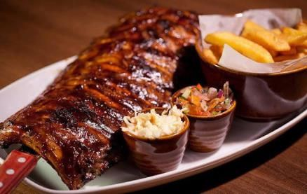 The Old Bank Steak & Ribs-Food 1
