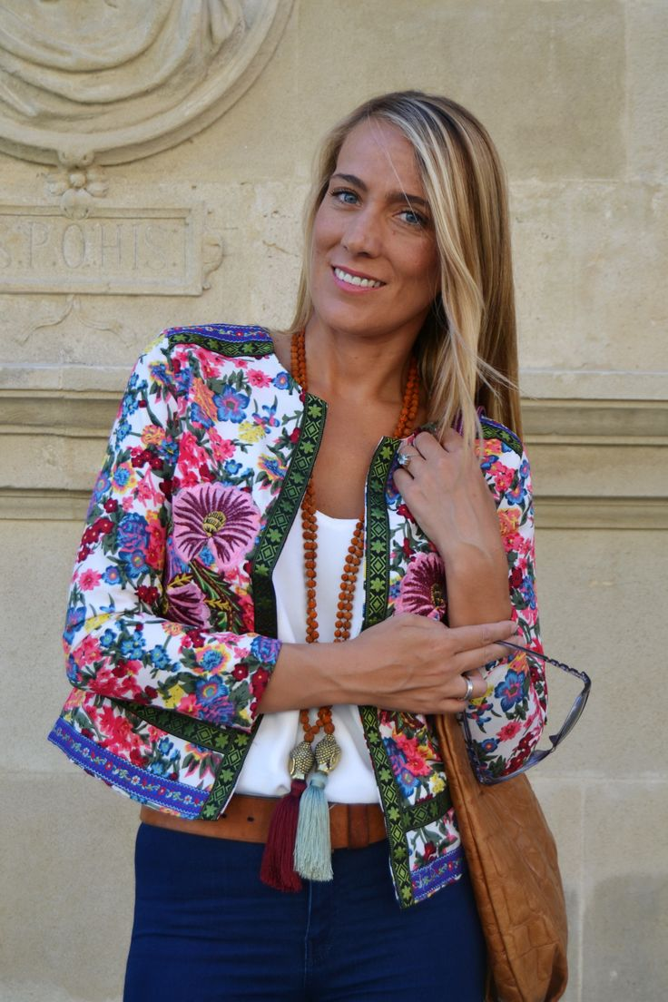 @BlackCoral4you by: Guapa y con Estilo chaqueta de flores 4 SPAIN