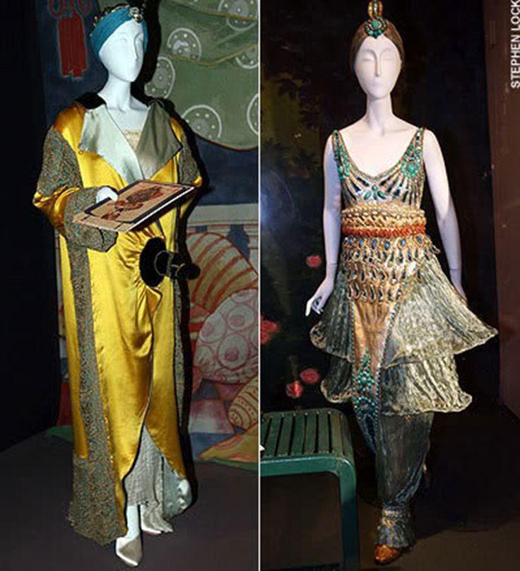 «Гаремные»  модели Поля Пуаре с шароварами.