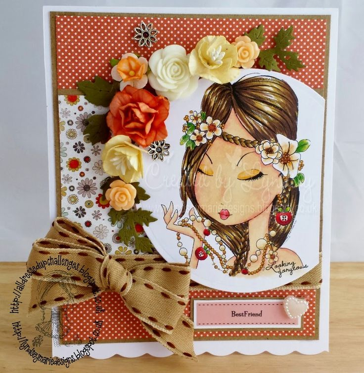 Handmade with Love, Gems and Pretty things: Hey Gorgeous! All Dressed Up digi stamp