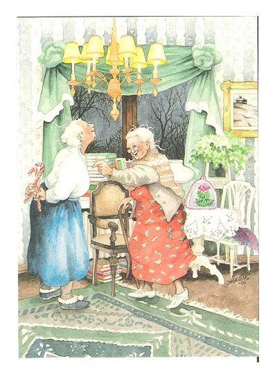 big_fem_sisters: Веселые старухи Inge Löök