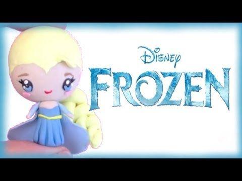 Polymer Clay Video Tutorial: Disney's Frozen Elsa Chibi