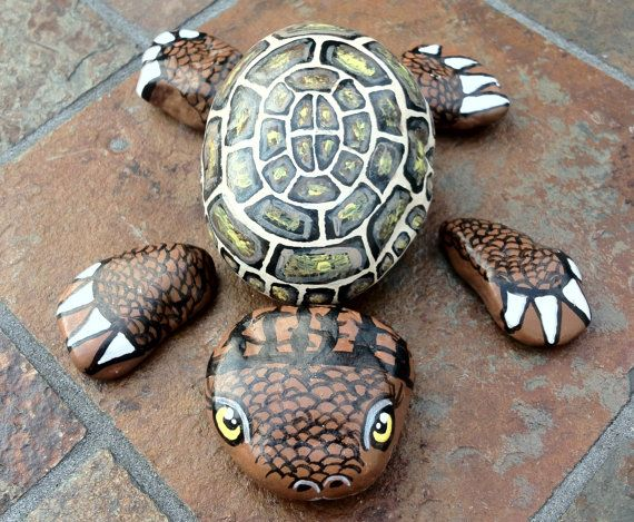 Turtle Painted Rocks | Painted Turtle