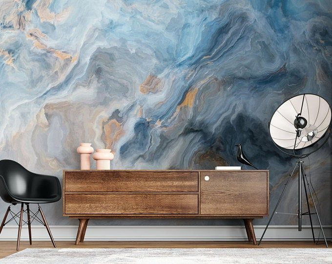 White Gray Marble 3d Photo Vinyl Wallpaper Self Adhesive Peel And Stick Wall Sticker Wall Decoration Minimalistic Scandinavian Removable In 2021 Mural Wallpaper Marble Wallpaper Blue Marble Wallpaper