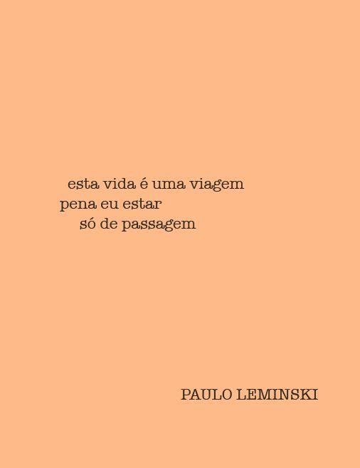 Paulo Leminski #pauloleminski