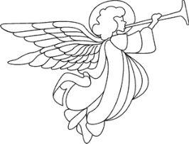 Malvorlagen Engel, Engel 1