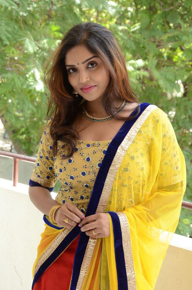 HQ Pics n Galleries !!: Karunya Chowdary glam at Vasudhaika pm