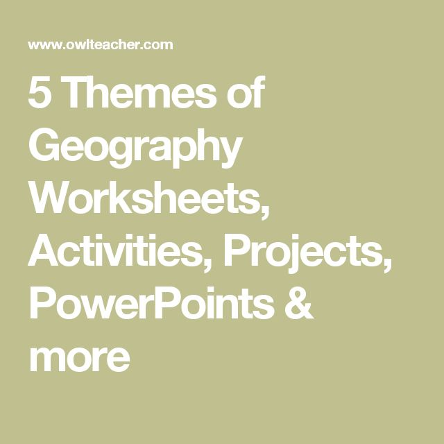 126 best Geography/SS images on Pinterest | Teaching social ...