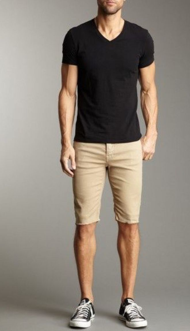 khakis are always on trend and look good with a basic or graphic t-shit. Also its really cool to pair with a sweater!