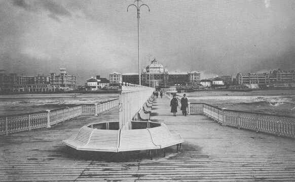 Kurhaus from the end of the old Pier circa 1912