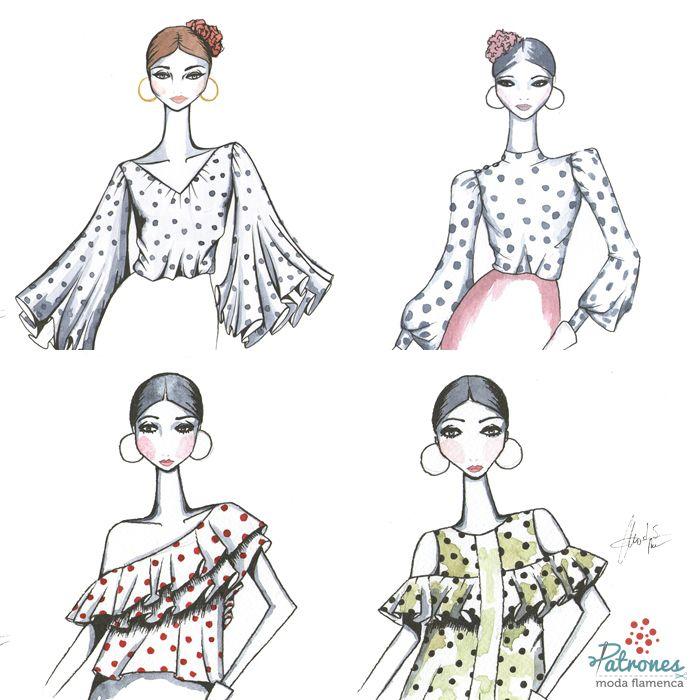 Si ya tienes tu falda de flamenca, cambia de blusa para darle un toque especial esta temporada ¿Cuál te gusta más? . . . . . .. #Patronesmodaflamenca #patronistaflamenca #modaflamenca #trajedegitana #trajedeflamenca #volantes #lunares#love #fashion #style #stylish #design #instafashion #girl #moda #diseñodemoda #patrones #patronaje #flamencas #flamenca #horaflamenca #flamencasperfectas #flamenca2018 #patronaje #patrones