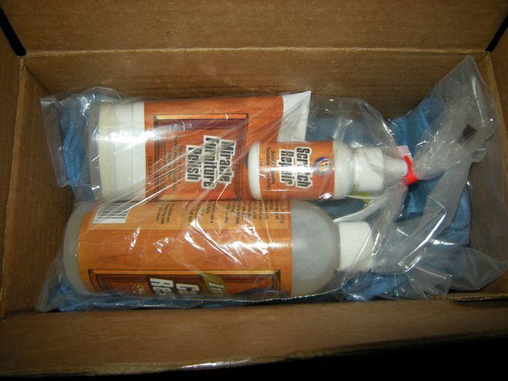 New Ezr Wood Furniture Cabinet Care Restore Kit Polish Scratch Repair Clean Cleanses