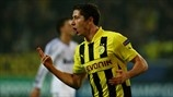 UEFA Champions League – UEFA.com    Robert Lewandowski scored one goal against Real and sent Dortmund to the top of the table in their group and they're now almost good to go to the knock-out matches.