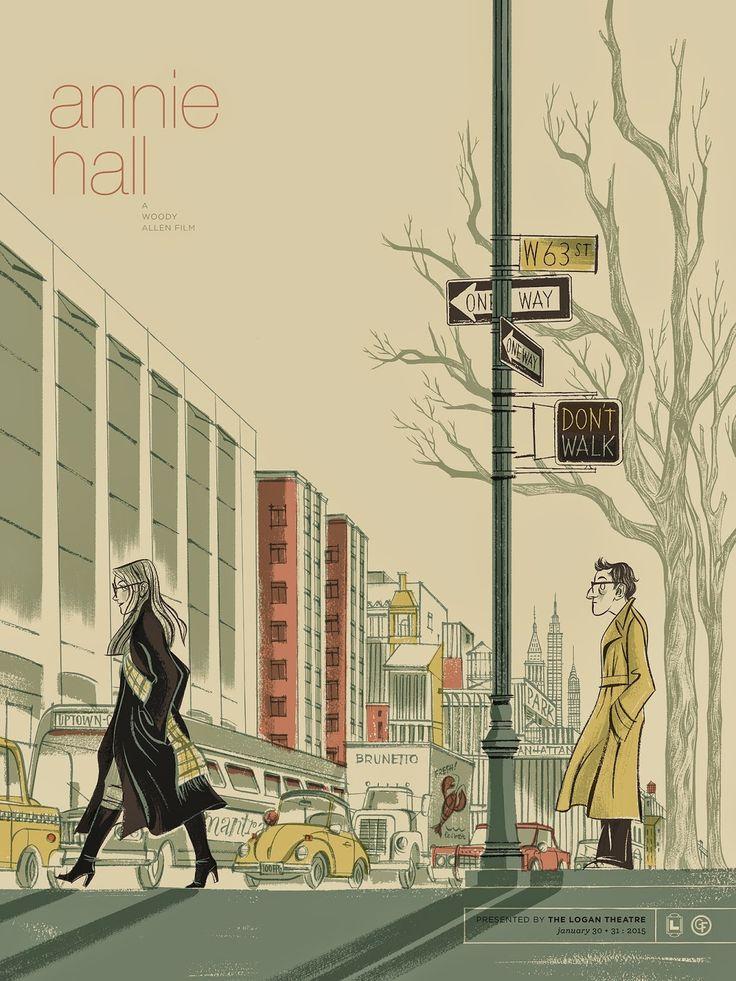 """Anne Benjamin's """"Annie Hall"""" Poster"""
