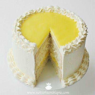 lemon mascarpone cream cake: Lemon Cake, Cream Cake, Butter Cake, Sweet, Humble Pie, Mascarpone Cream, Lemon Mascarpone, Cake Recipes