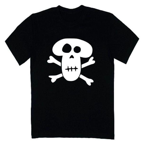 T-shirt męski - czacha 2 z FamilyInBlack.pl